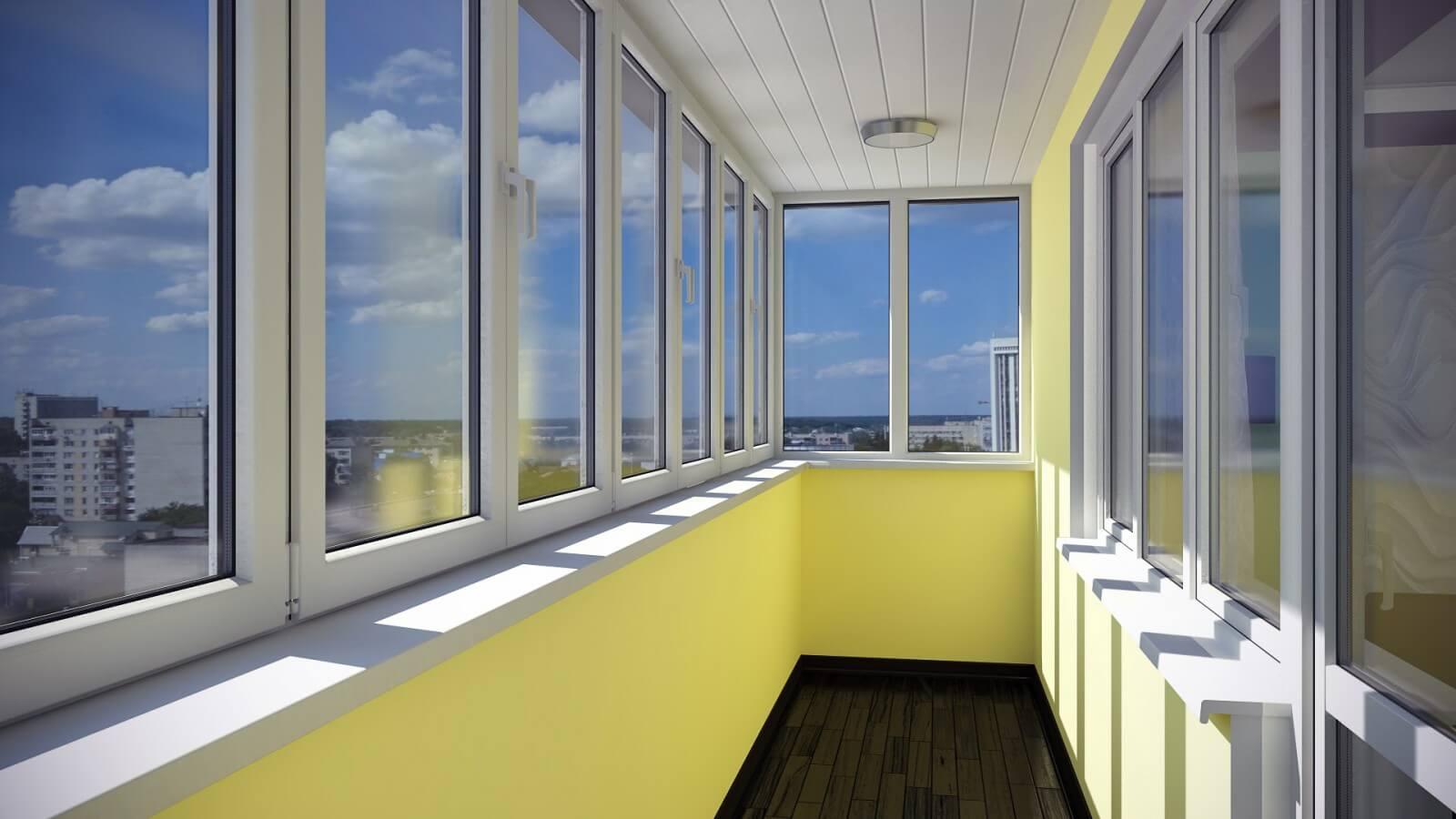 Виды остекления балконов и лоджий и их особенности.